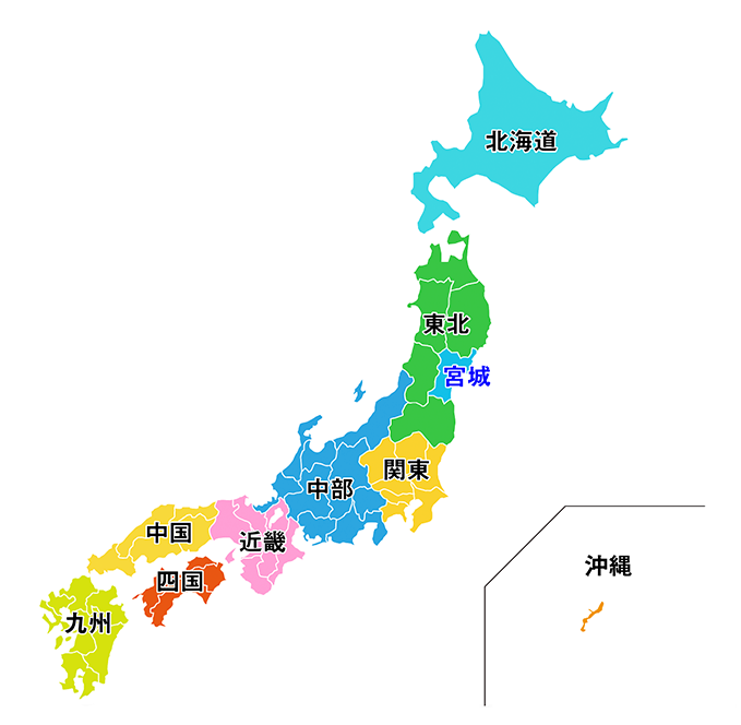 取扱一覧 地図