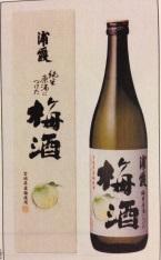 浦霞の純米原酒につけた梅酒 12度(宮城)